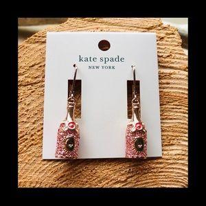 ♠️ Kate Spade Champagne🍾 Earrings